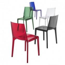EVELINE Transparent židle